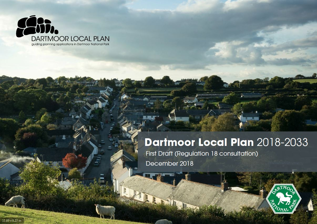Draft local plan cover
