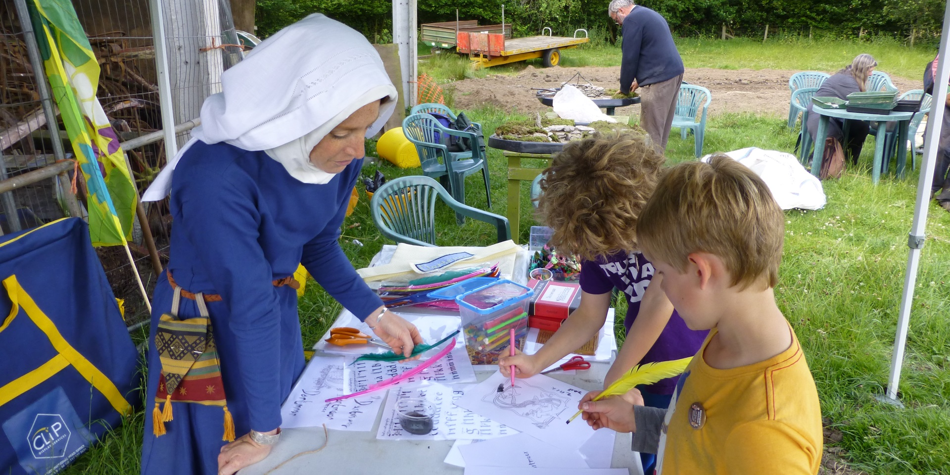 Medieval open day event
