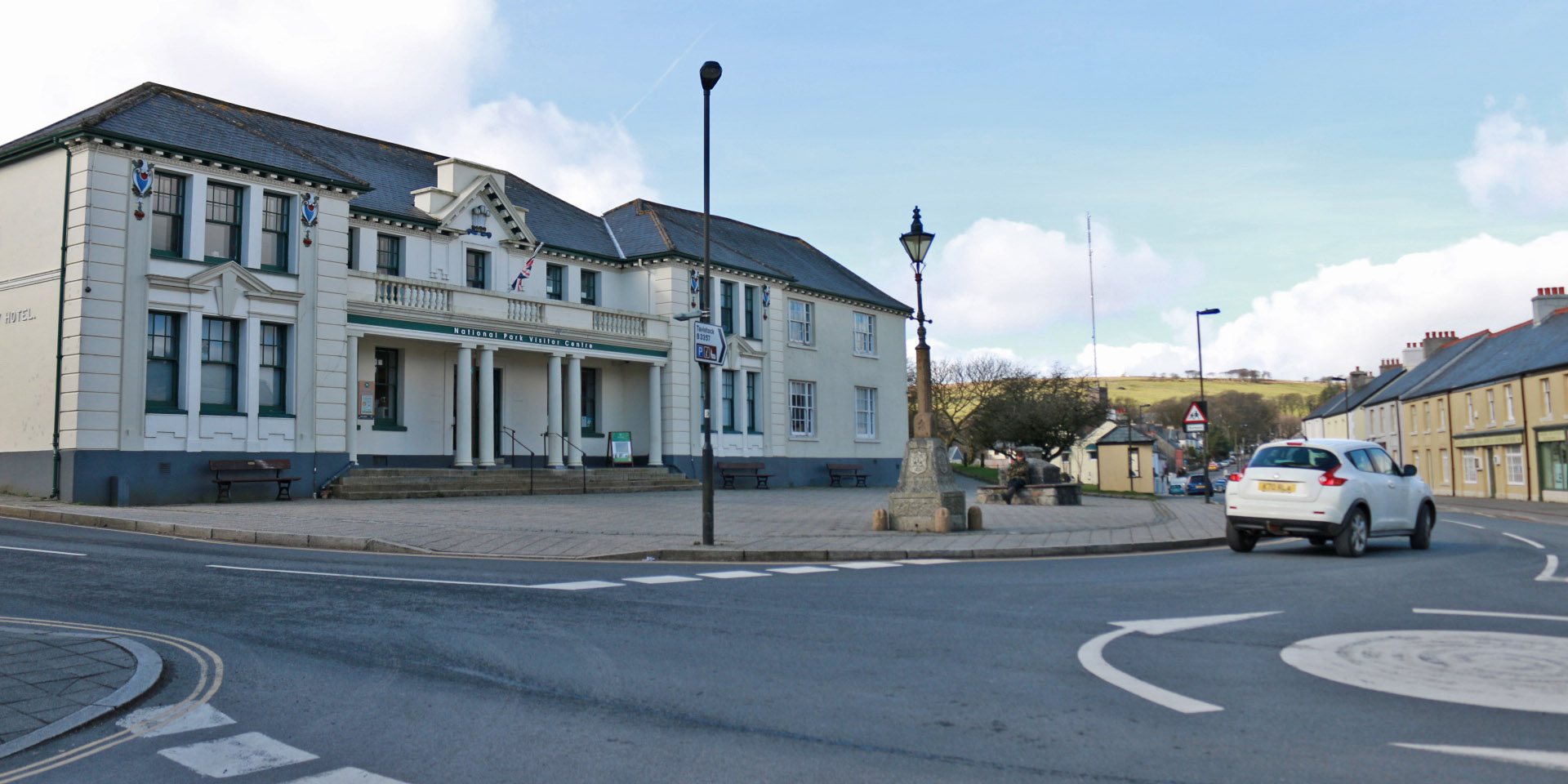 Street view of Princetown Visitor Centre