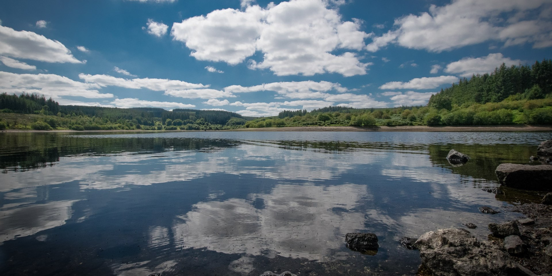 View of reservoir by Dave Harrison