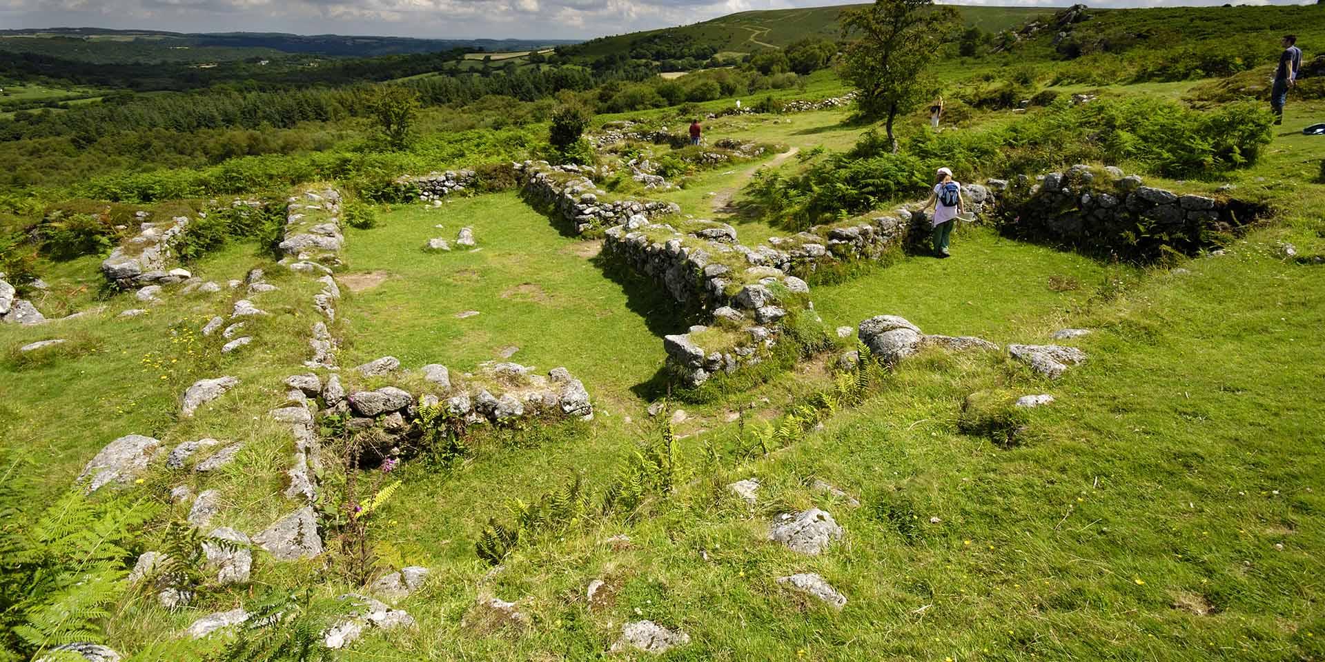 Hound Tor medieval settlement