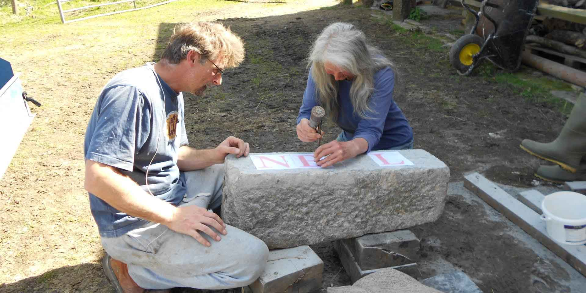 Learning the art of stone carving