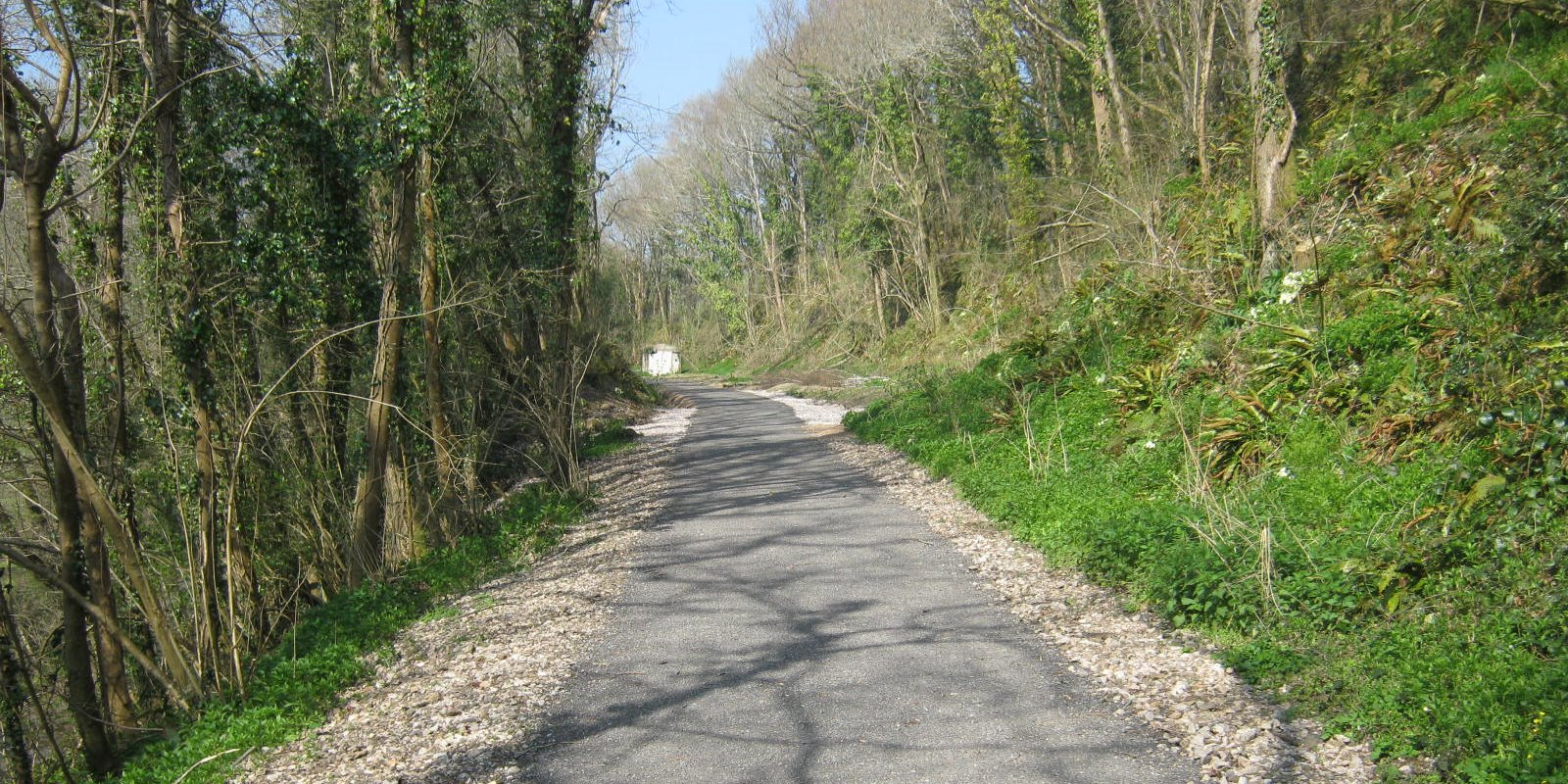 Part of the trail from Bovey to Lustleigh