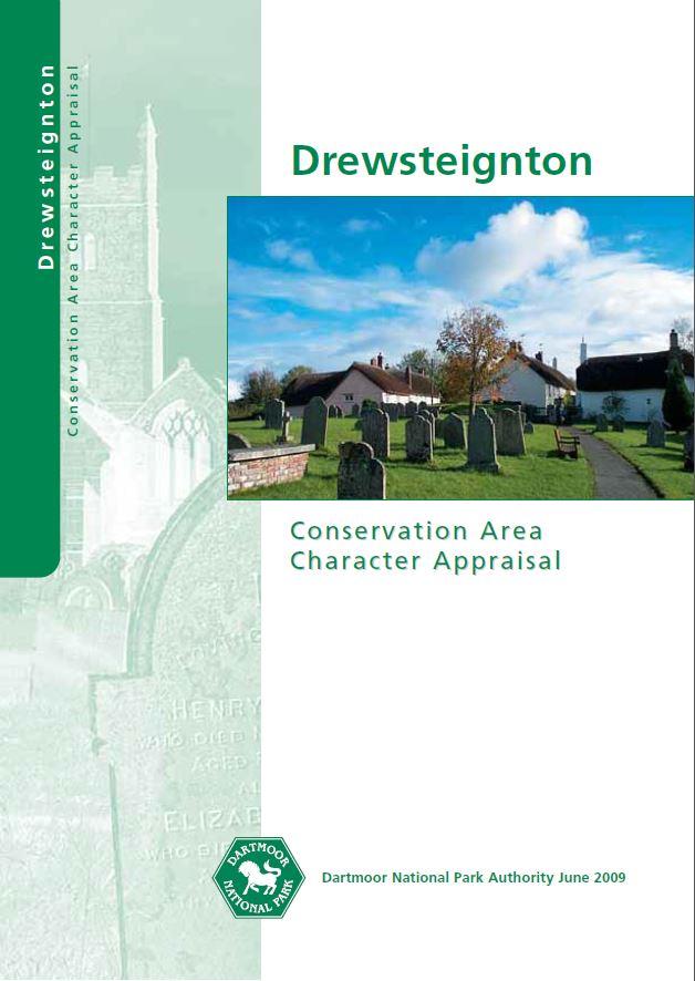 Drewsteignton CAA cover